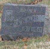 Agnes N Blair