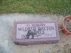 Mildred <I>Dayton</I> Barnes