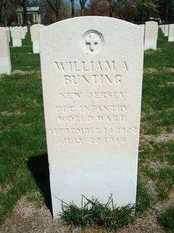 William A Bunting