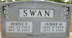 Myrtle Pearl <I>Webber</I> Swan