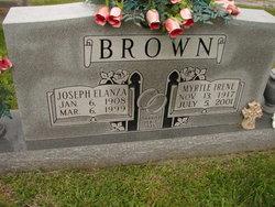 Joseph Elanza Brown