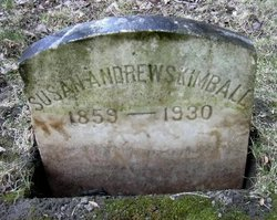 """Susan Moore """"Susie"""" <I>Andrews</I> Kimball"""