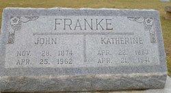 """Lydia Katherine """"Kate"""" <I>Parrish</I> Franke"""