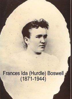 """Frances Ida """"Ida"""" <I>Hurdle</I> Boswell"""