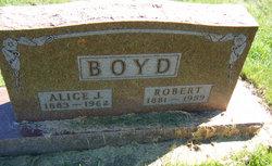Alice Julia <I>Lowe</I> Boyd