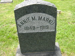 Annie M. Markli
