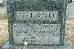 Addie S. <I>Martin</I> Delano