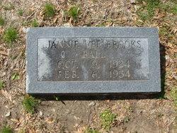 Jannie Vee <I>Brooks</I> Ball