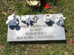 """Leslie Virgil """"Virgil"""" Lewis"""
