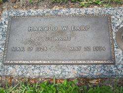 Harold Wilson Earp