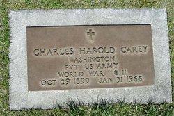 Charles Harold Carey