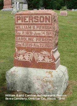 Caroline <I>Hollingsworth</I> Pierson