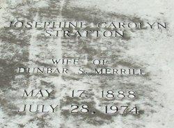 Josephine Carolyn <I>Stratton</I> Merrill