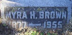 "Elmyra H. ""Myra"" <I>Harrison</I> Brown"
