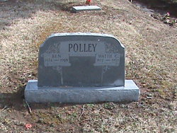 Mattie <I>McCane</I> Polley