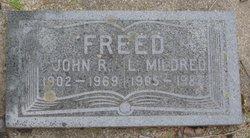 "John Ralph ""Johnny"" Freed"