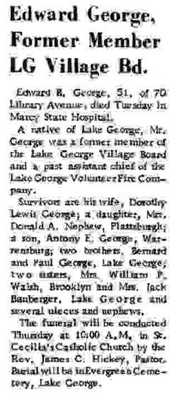 Edward B George