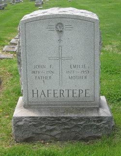 Emilie <I>Budde</I> Hafertepe