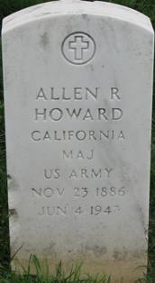 Maj Allen Richmond Howard