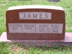 Florence <I>Nelson</I> James