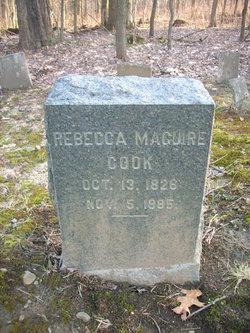 Rebecca Ruth <I>McGuire</I> Cook