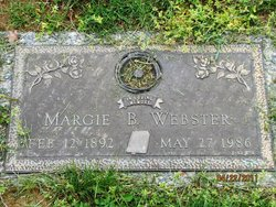 "Marjorie Belle ""Margie"" <I>McFall</I> Bentley Webster"