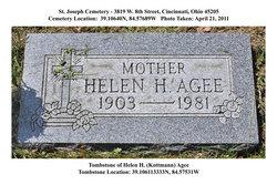 Helen H. <I>Kottmann</I> Agee