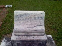 Pvt Louis Jefferson Mordecai Camp