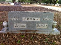 Cecil Augustus Brown