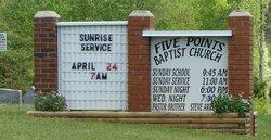 Five Points Baptist Church Cemetery