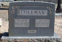 "Mary Melvina ""Vina"" <I>West</I> Coleman"