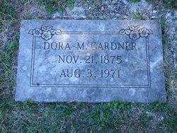 Dora M <I>Basnett</I> Gardner
