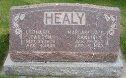 Margaretta <I>Rawlings</I> Healy