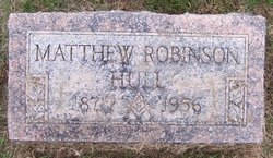 Matthew Robinson Hull
