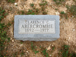 Clarence Clifton Abercrombie