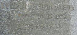 Lydian Ann <I>Taylor</I> Sickels