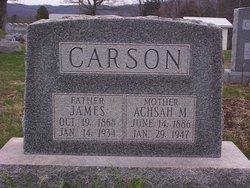 Achsah Mae <I>Griffin</I> Carson