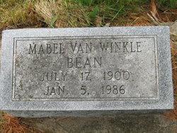 Mabel <I>VanWinkle</I> Bean