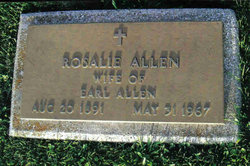 Rosalie <I>Collins</I> Allen