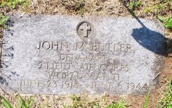 2LT John Mitchell Butler
