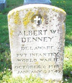 Pvt Albert Wilson Denney