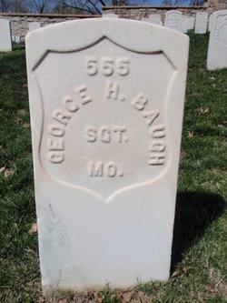 Sgt George H Baugh