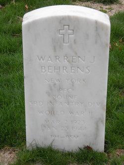 Warren J Behrens