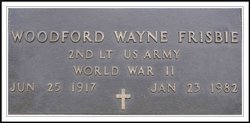 Woodford Wayne Frisbie