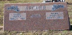 Rhoda Francis <I>Rhodes</I> Archer