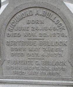 Gertrude <I>Cook</I> Bullock