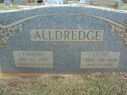"Elizabeth ""Lizzie"" <I>Fenley</I> Alldredge"