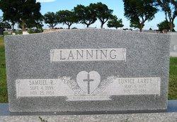 Eunice LaRue <I>Mullins</I> Lanning