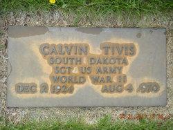 Sgt Calvin Tivis