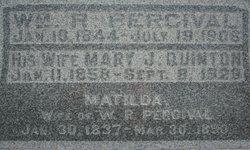Mary J <I>Quinton</I> Percival